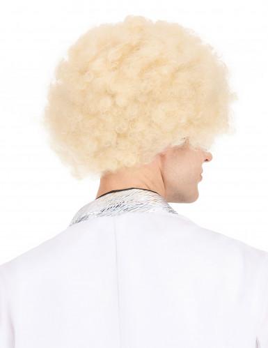 Afro-Perücke blond für Erwachsene-2