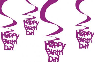 Hänge-Deko Happy Birthday