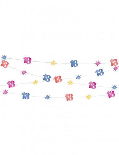 Girlande mit dem Alter des Geburtstagskindes