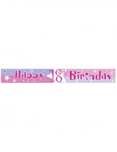 Banner mit dem Alter des Geburtstagskindes