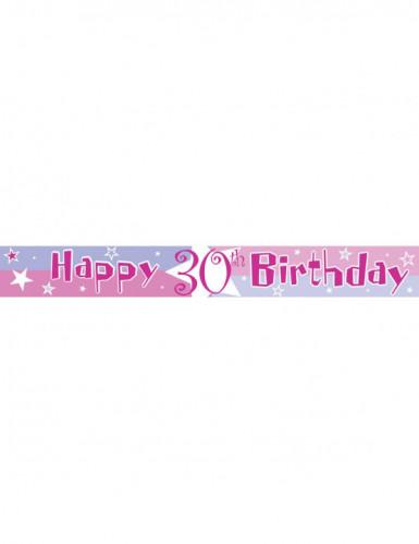 Banner mit dem Alter des Geburtstagskindes-3