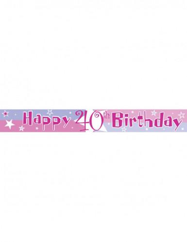 Banner mit dem Alter des Geburtstagskindes-2