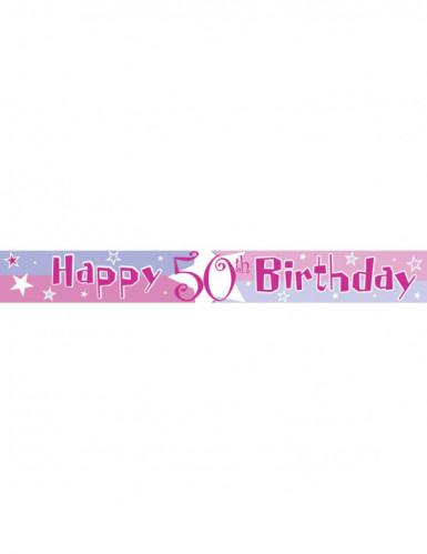 Banner mit dem Alter des Geburtstagskindes-1