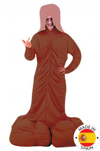 Zipfelchen-Kostüm, dunkel, für Erwachsene