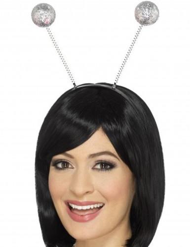 Stirnband mit Silber-Kugeln