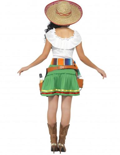 Mexikanisches Kellnerin-Kostüm für Damen-1