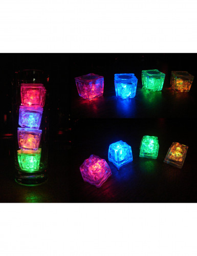 Leuchtende Eiswürfel LED