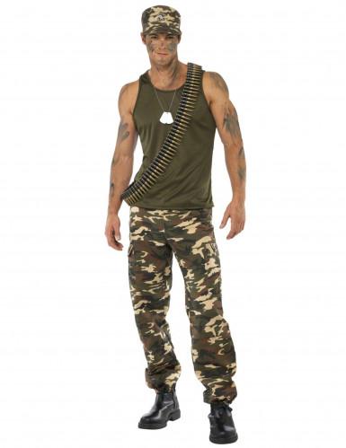 Soldaten-Kostüm für Herren