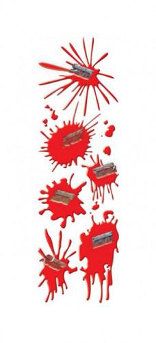 Stickers Blutflecken