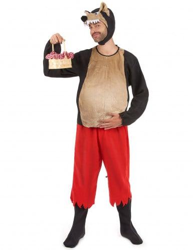 Rotkäppchen und der böse Wolf Kostüm für Paare-1