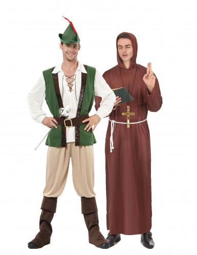 Waldmann und Mönchs-Kostüm für Erwachsene