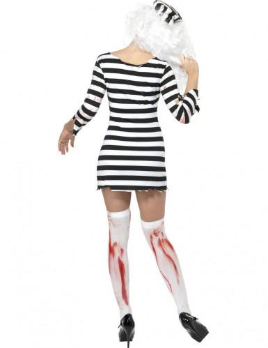 Zombie-Gefangene-Kostüm für Damen-1