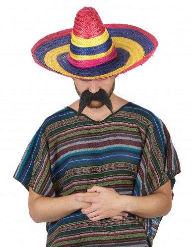 Sombrero für Erwachsene bunt 50cm-1