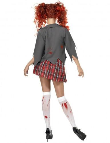 Schülerin-Zombie-Kostüm für Damen-1