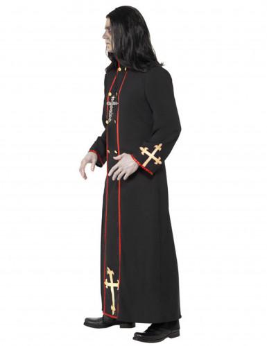 Priester-Kostüm Halloween für Erwachsene-1