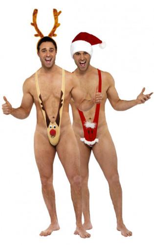 Rentier und Weihnachtsmann-Kostüm für Herren