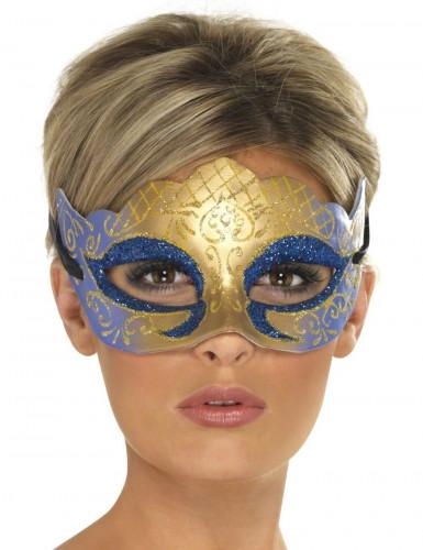 Glänzende venetianische Halbmaske