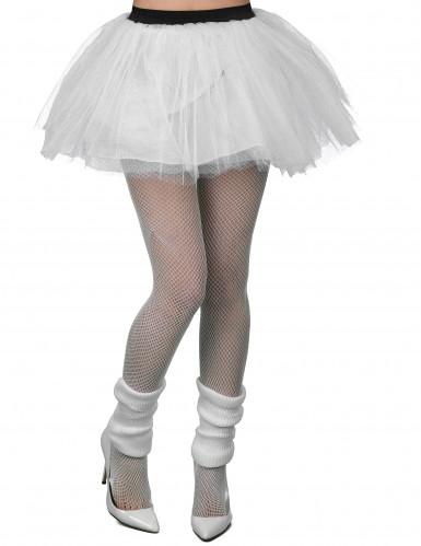 Weißes Ballettröckchen