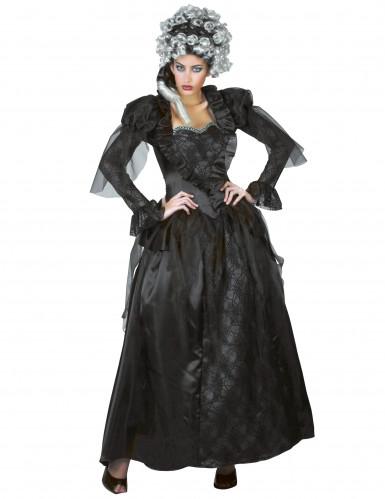 Halloween Gräfin-Kostüm für Damen