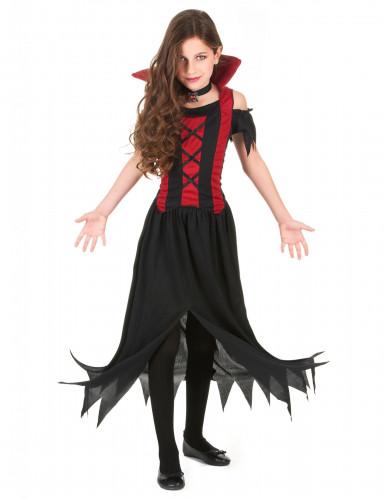 Vampir-Kostüm für Mädchen