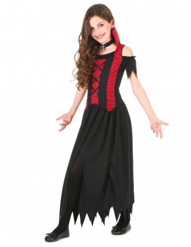 Vampir-Kostüm für Mädchen-1