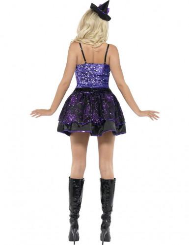 Sexy Hexenkostüm für Damen Halloween-1