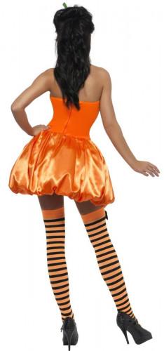 Sexy Kürbis-Kostüm Halloween für Damen-1