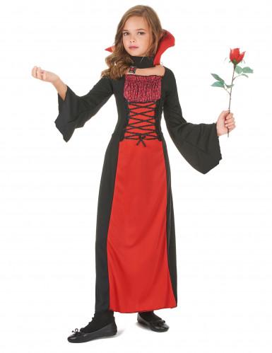 Halloween Vampir-Kostüm für Mädchen-1