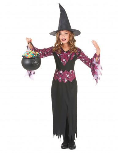 Hexen-Kostüm für Mädchen