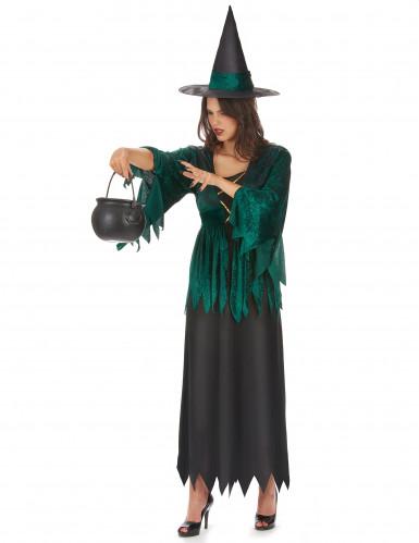 Gothic Hexen-Kostüm für Damen-1