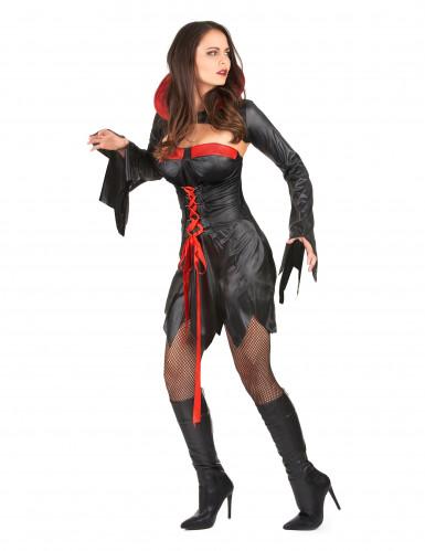 Sexy Halloween Vampir-Kostüm für Damen-1