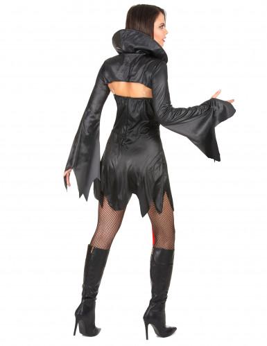 Sexy Halloween Vampir-Kostüm für Damen-2