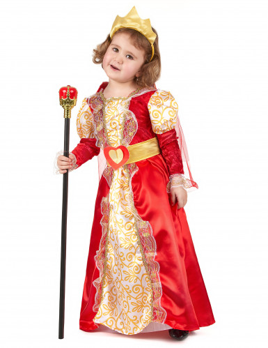 Königinnen-Kostüm für Mädchen