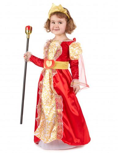 Königinnen-Kostüm für Mädchen-1