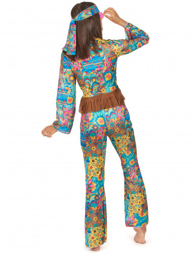 Hippiekostüm für Damen-1