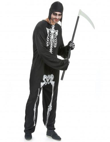 Skelett-Kostüm für Herren