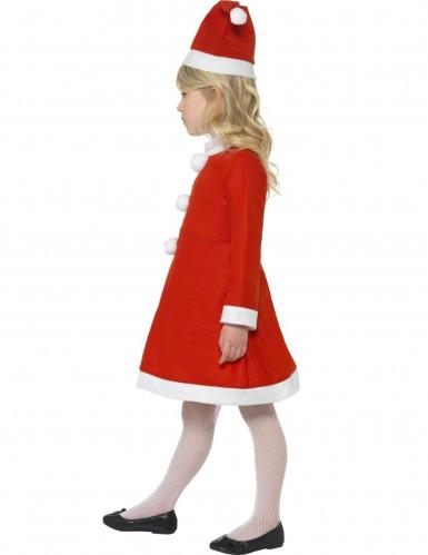 Weinachts-Kostüm für Mädchen-1
