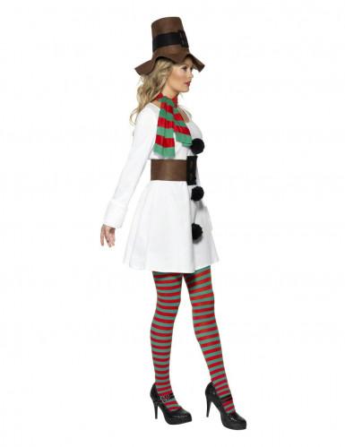 Schneemann-Kostüm für Damen-1