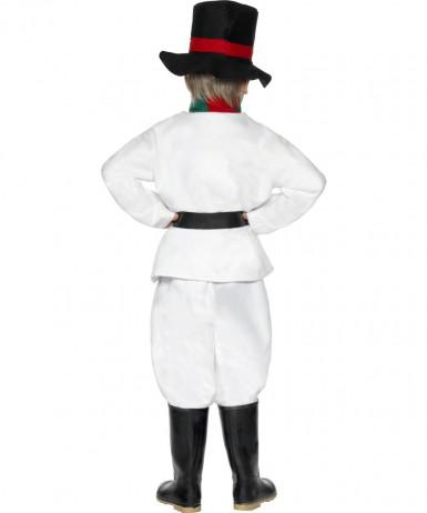 Schneemann-Kostüm Weihnachten für Kinder-1