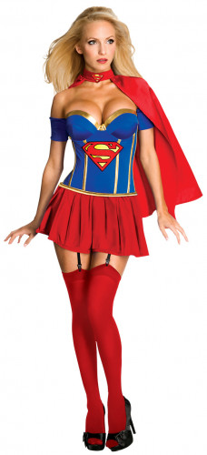 Damenkostüm Supergirl TM Sexy