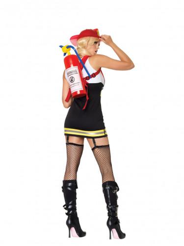 Feuerwehrmannkostüm für Damen-1