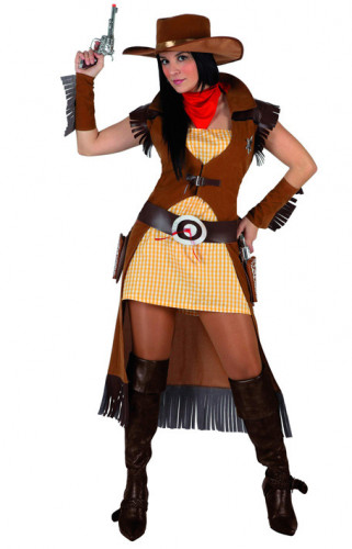 Cowgirl-Cowboy - Kostüm für Damen