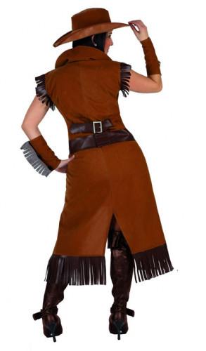 Cowgirl-Cowboy - Kostüm für Damen-1