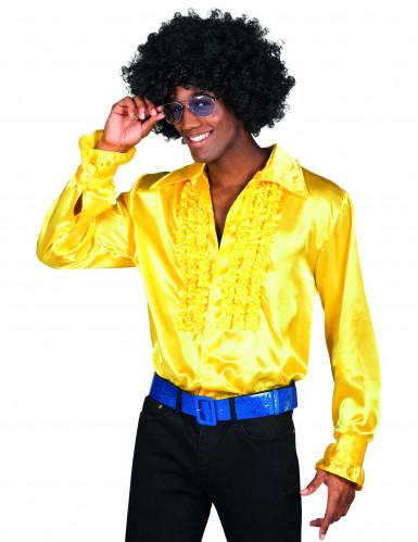 Disco - Hemd gelb für Herren