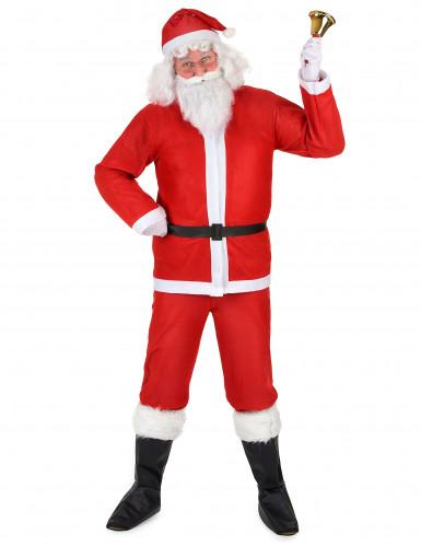 Set Weihnachtsmann-Kostüm für Erwachsene