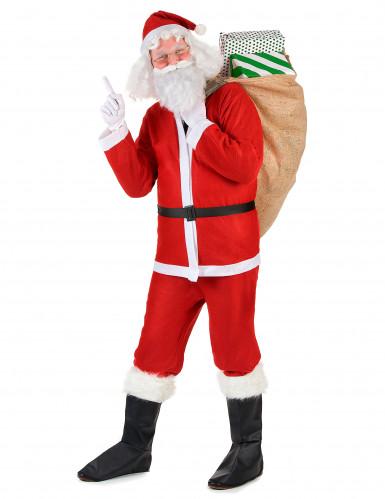 Set Weihnachtsmann-Kostüm für Erwachsene-1