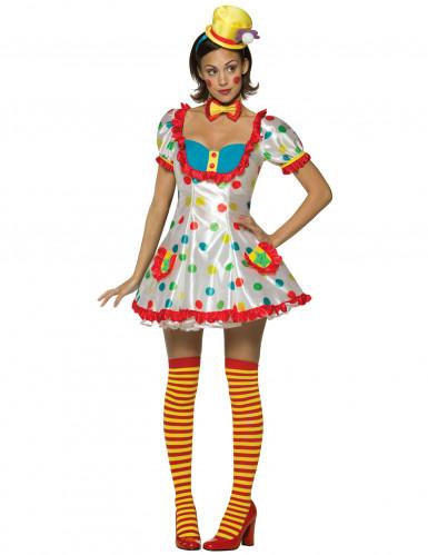 Clowns Damenkostüm