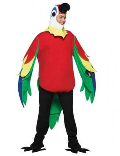 Papageien-Kostüm für Erwachsene