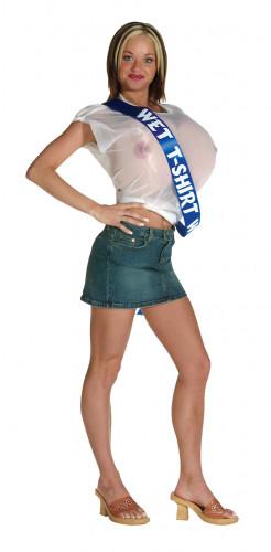 Wet-Shirt-Contest Kostüm für Damen