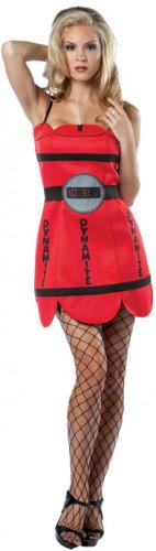 Dynamit-Kostüm für Damen